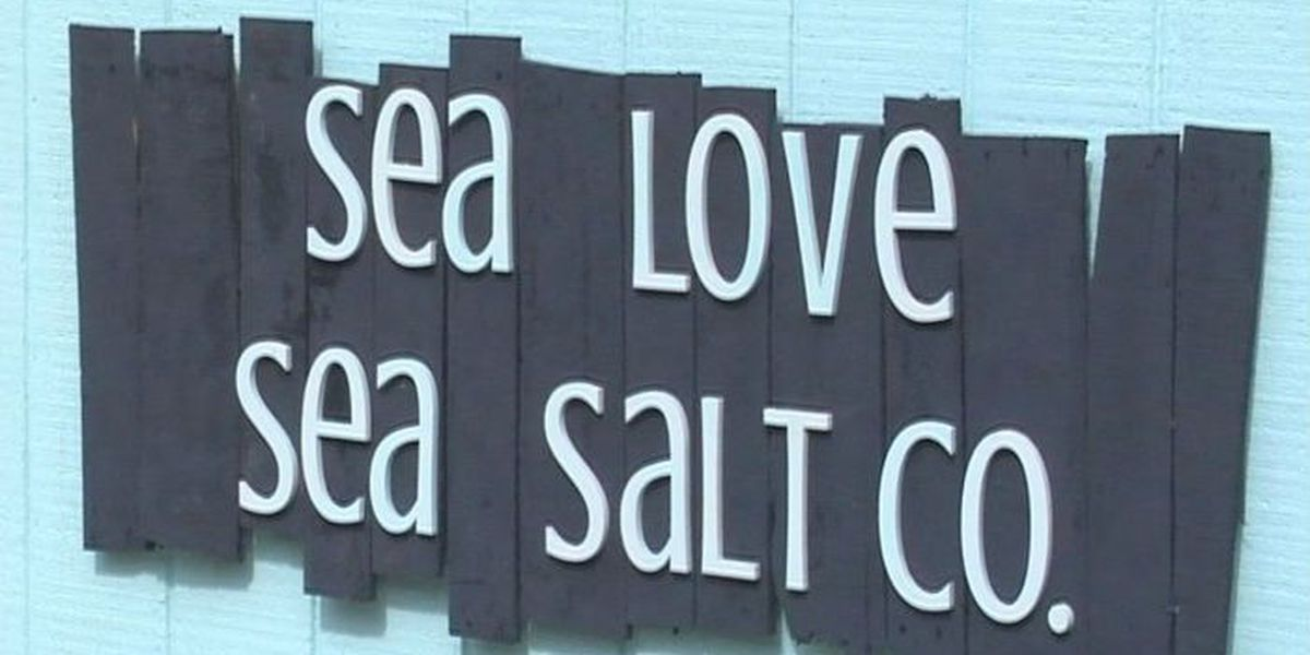 Sea water is main ingredient in a local Sea Salt company