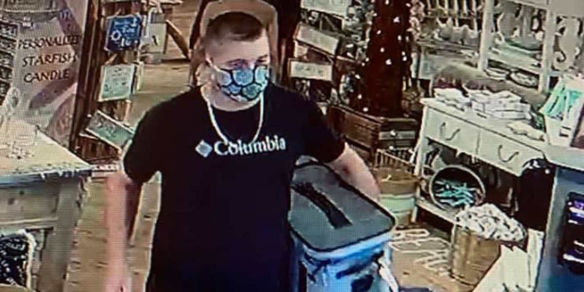 BCSO looking for suspect in larceny at Calabash store