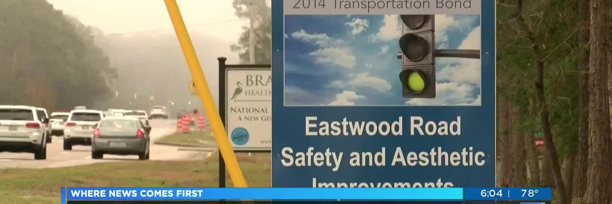 Eastwood Road improvements almost complete