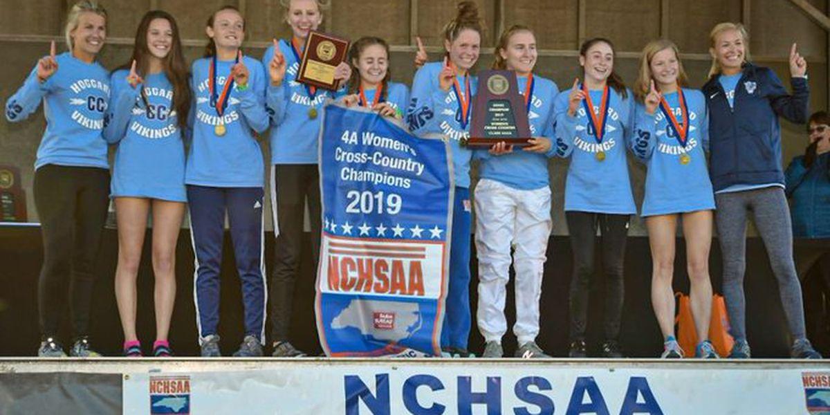 Hoggard girls win 4A cross country title