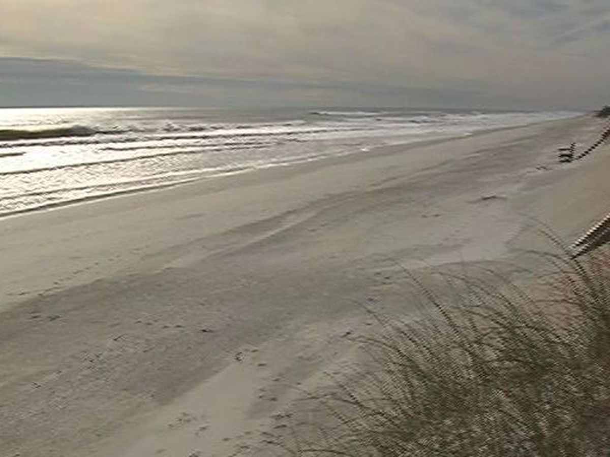 Swimming advisory issued for portion of Topsail Island