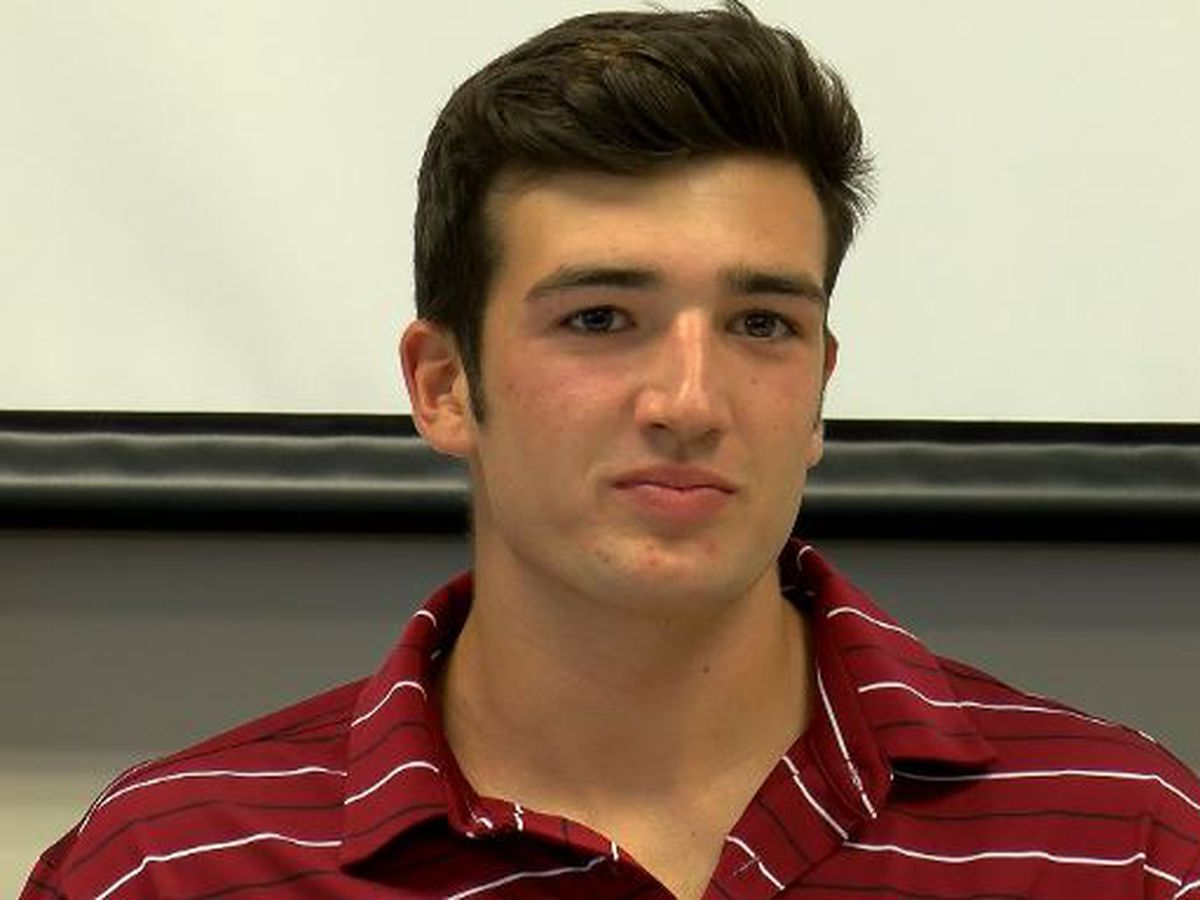 Cape Fear Academy's Henry Murtagh named WECT Athlete of the Week