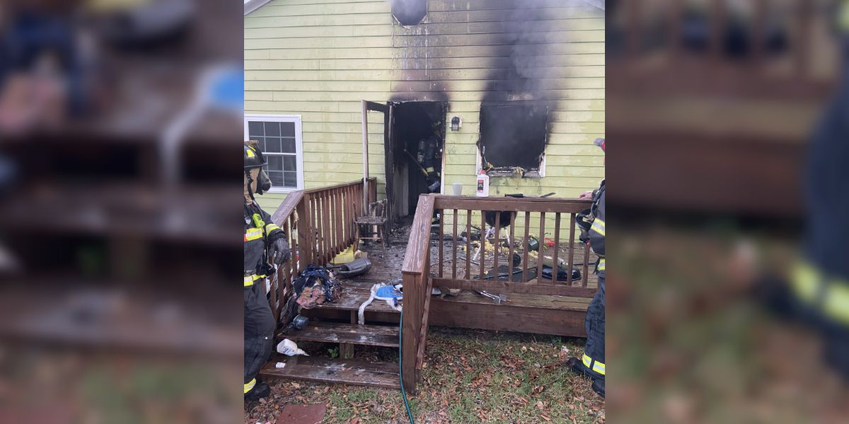 Wilmington house fire started by improperly discarded smoking materials, officials say