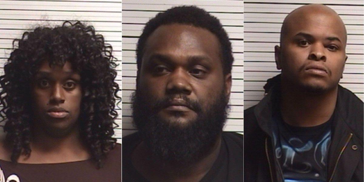 Three held under $1 million bonds after Brunswick Co. drug bust