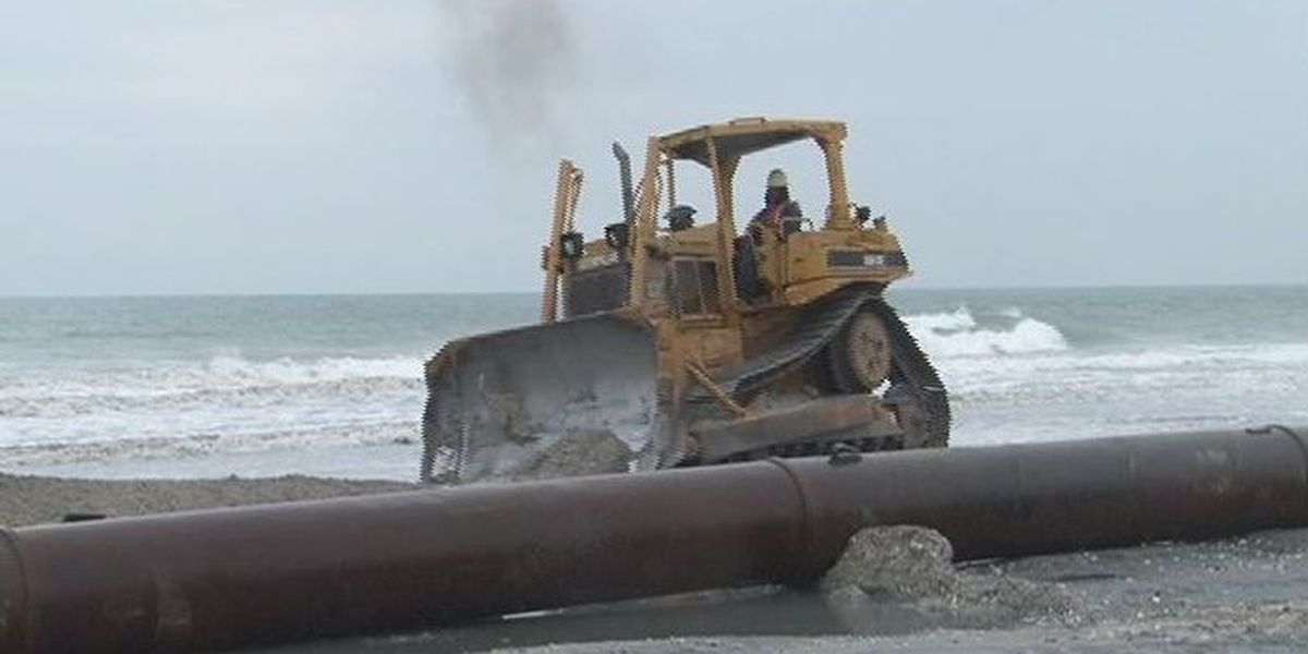 Despite prior Congressional approval, local beach nourishment projects left out of federal funding