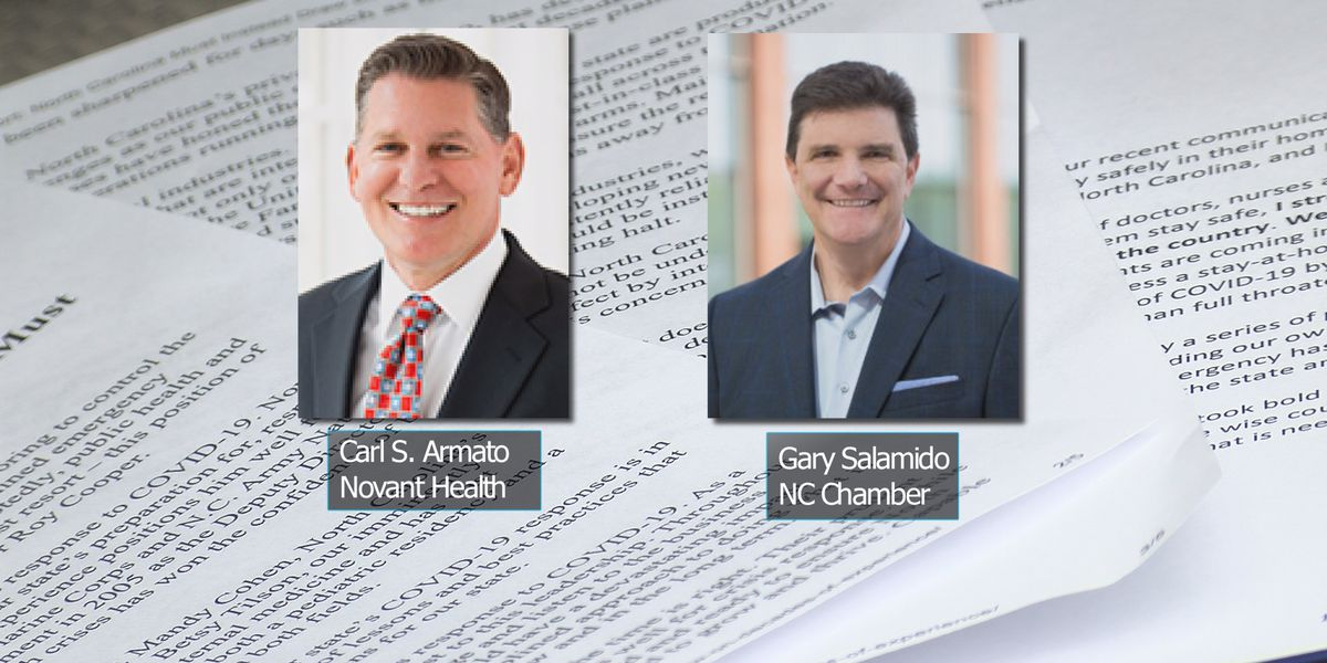 NC health and business leaders at odds over statewide 'shelter-in-place' order