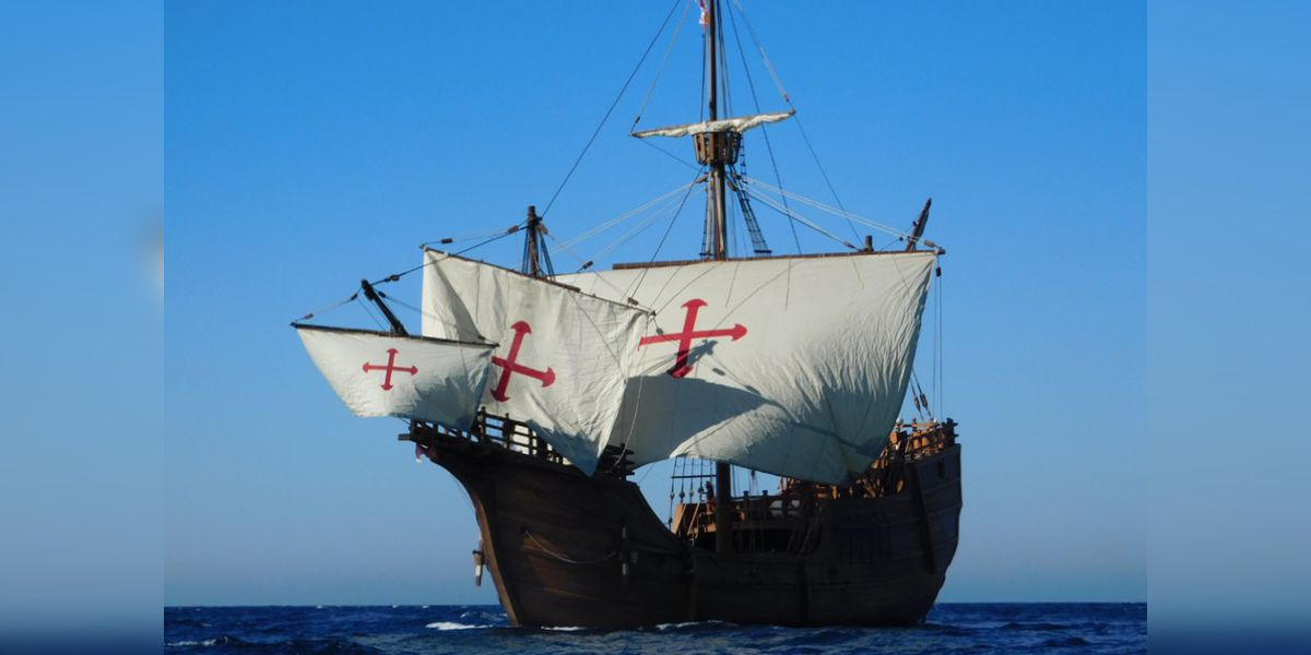 Replica of ship sailed by Christopher Columbus to dock in Wilmington
