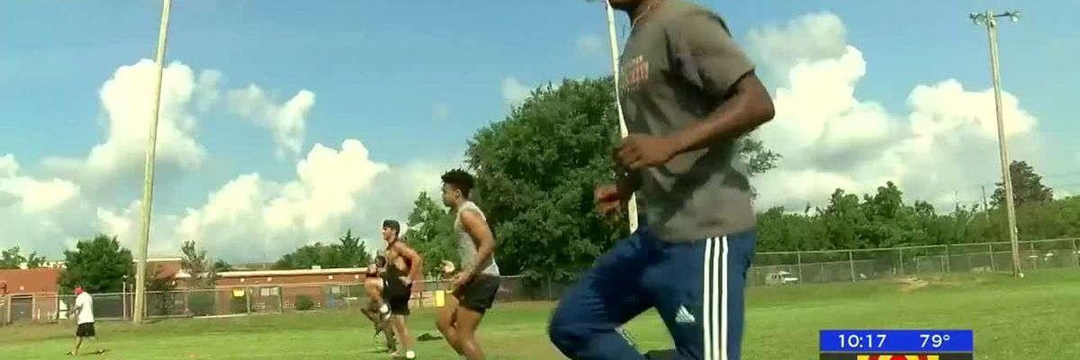 High school sports practice resumes