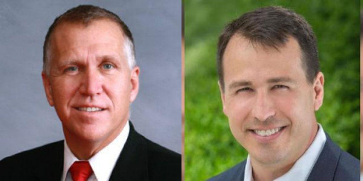 Tillis and Cunningham spar police reform, Supreme Court pick