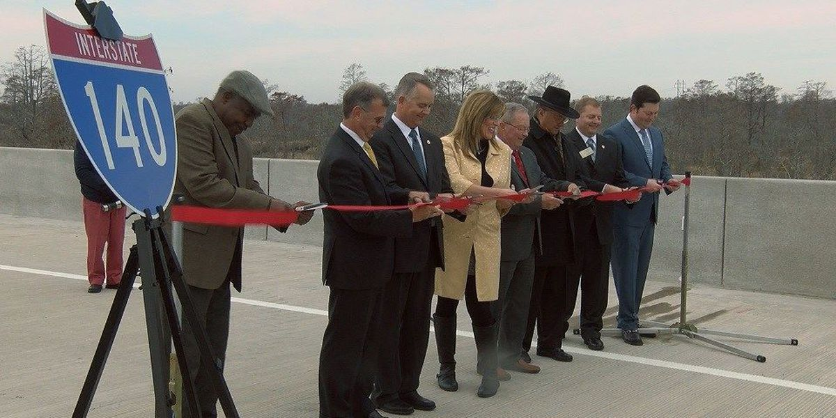 Leaders cut ribbon on I-140 Wilmington Bypass