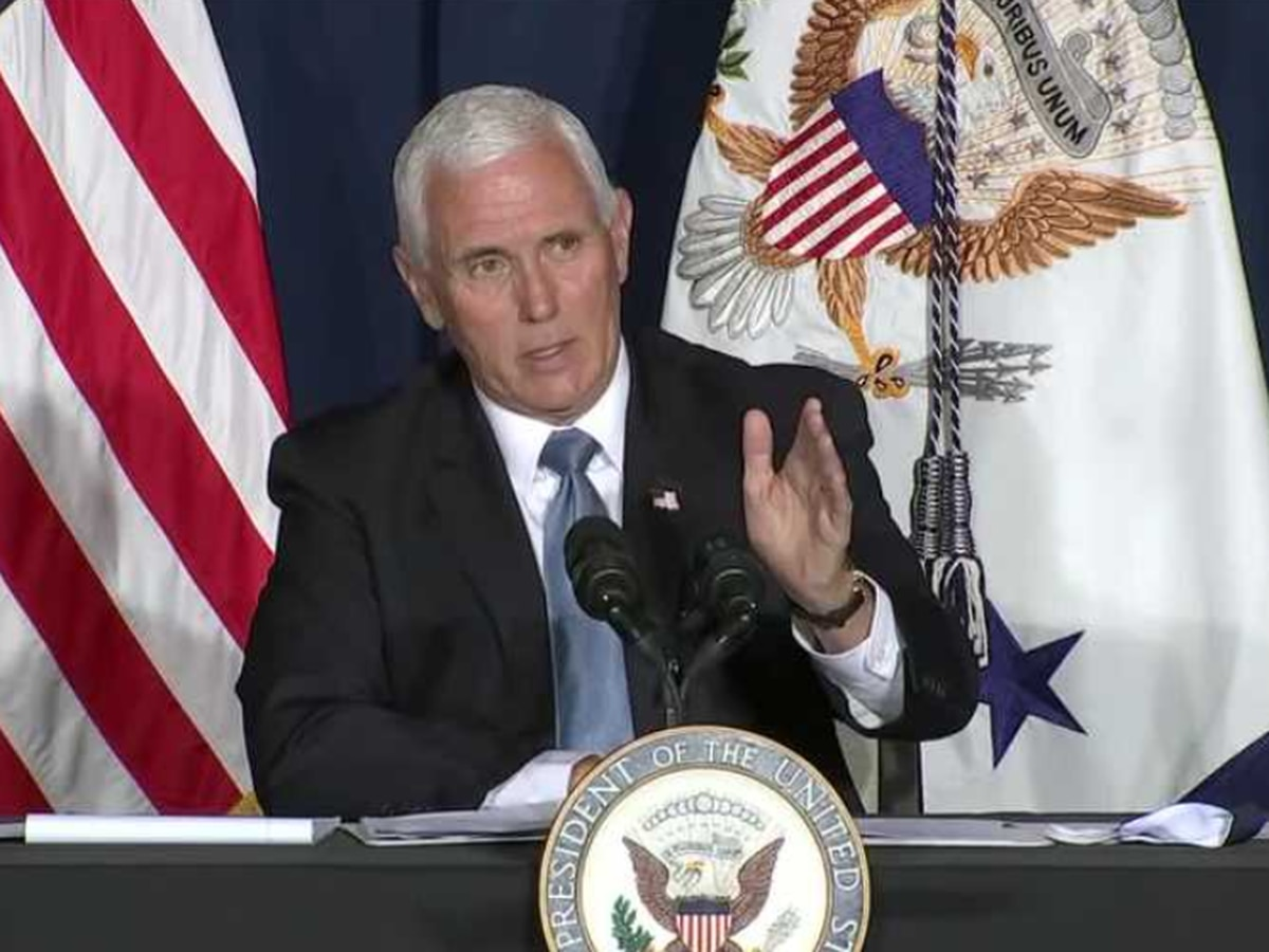 Vice President Pence takes campaign trail to Wilmington, COVID-19 cases rising