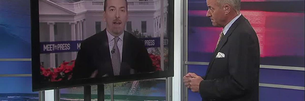 """Chuck Todd, Moderator of NBC's """"Meet the Press"""", discusses NC's election fraud investigation"""