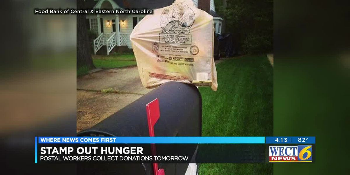 Food bank, letter carriers need your help to Stamp Out Hunger