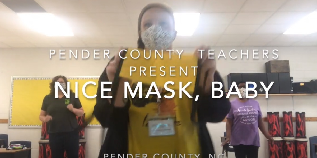 """""""Nice Mask, Baby"""": Pender County teachers produce fun video with serious message"""