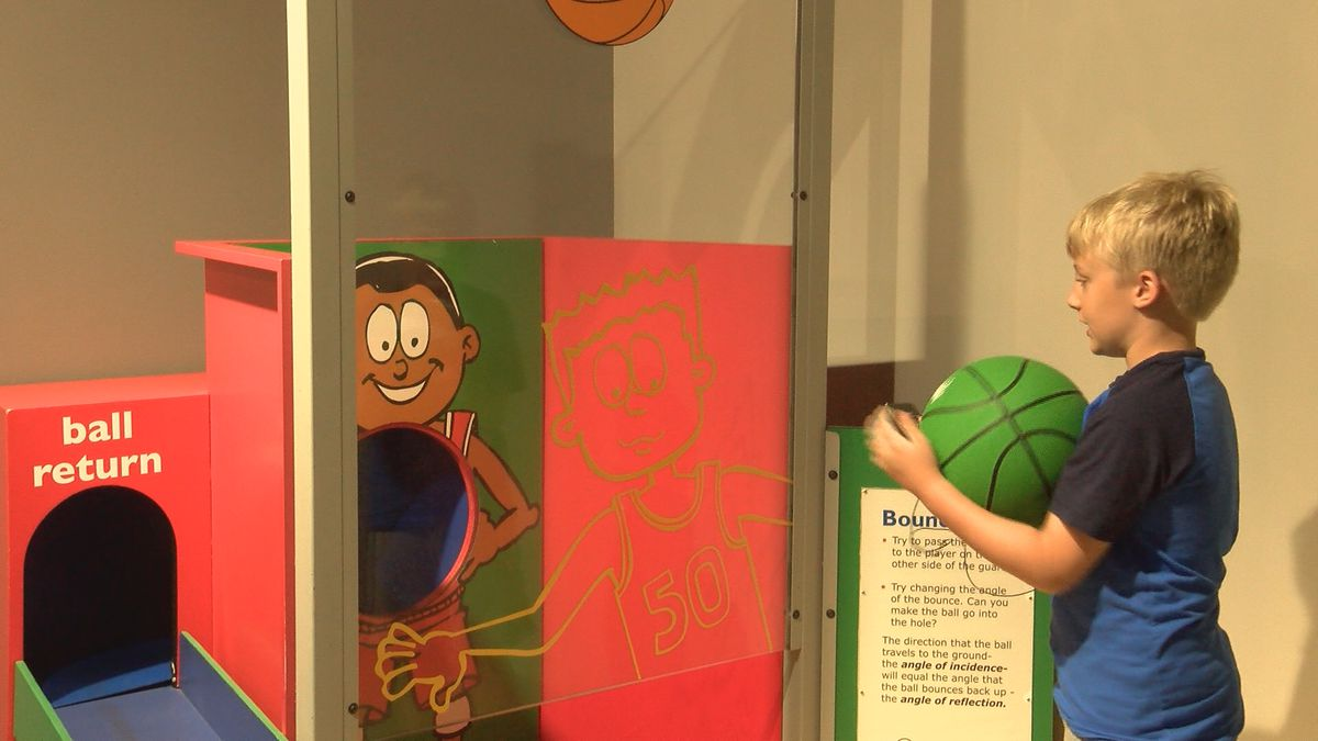 Cape Fear Museum introduces new exhibit, teaches science of sports