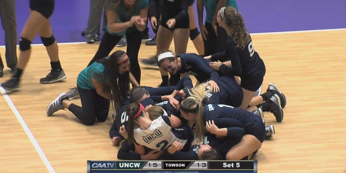 UNCW Volleyball reflects on CAA Win