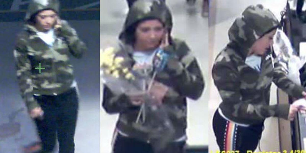 KNOW HER? Brunswick Co. detectives seek ID of vehicle break-in suspect