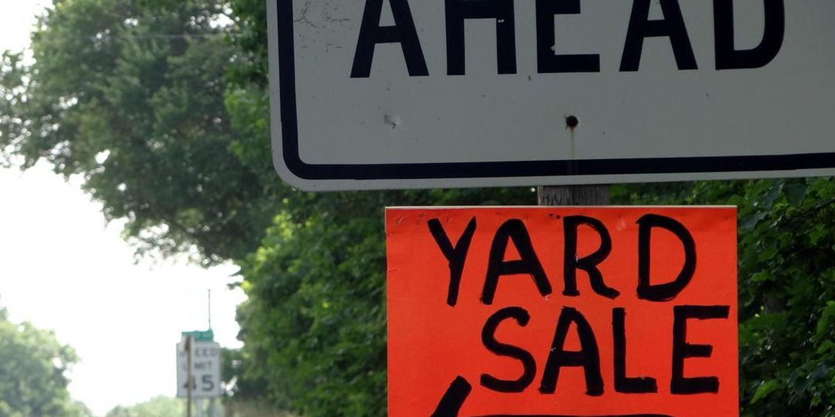 Yard sales for October 29