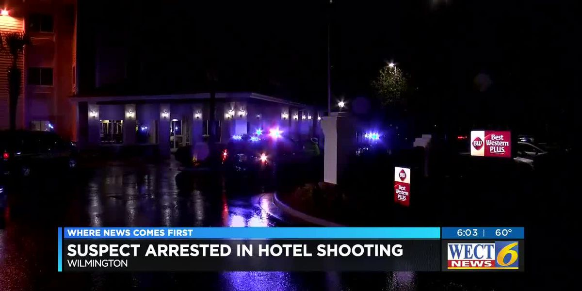 Man arrested in shooting at Monkey Junction hotel