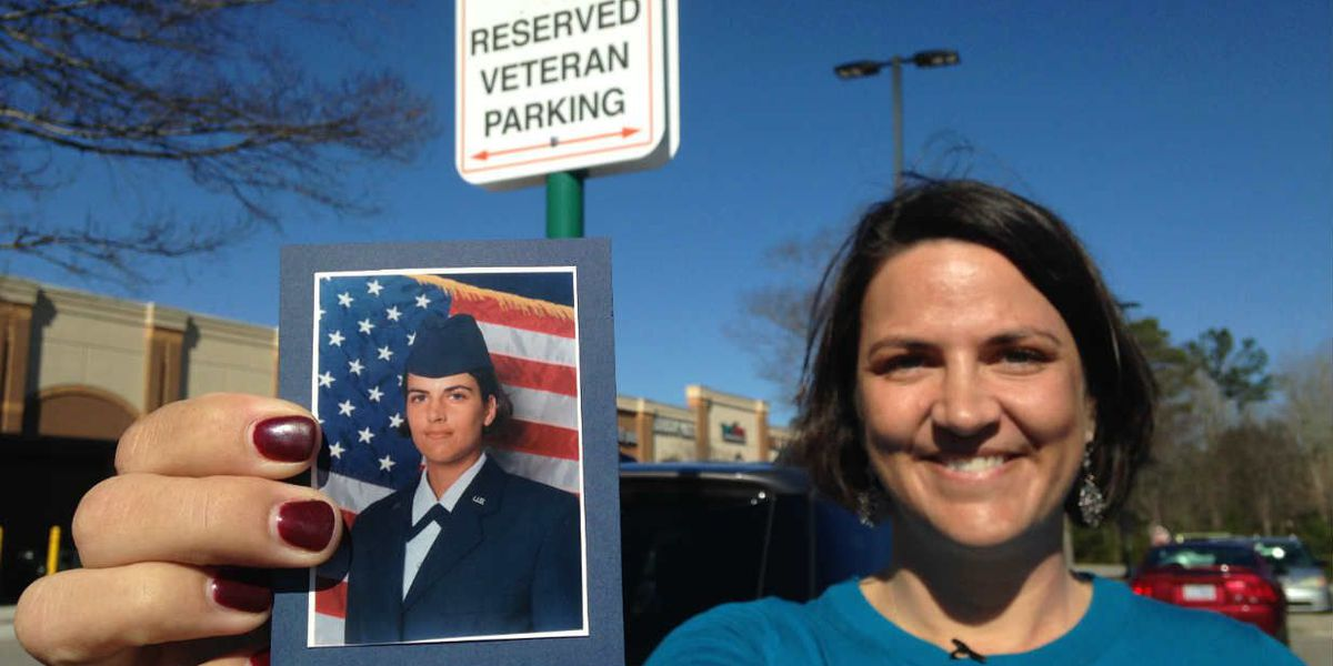 Veteran slammed with nasty note for parking in reserved spot