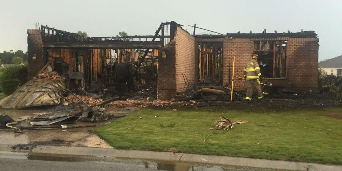 Fire dept. response time likely not major factor in destruction of Leland home