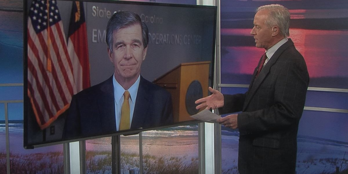 Gov. Roy Cooper was non-committal when asked if NC is on track to enter Phase 2 of reopening