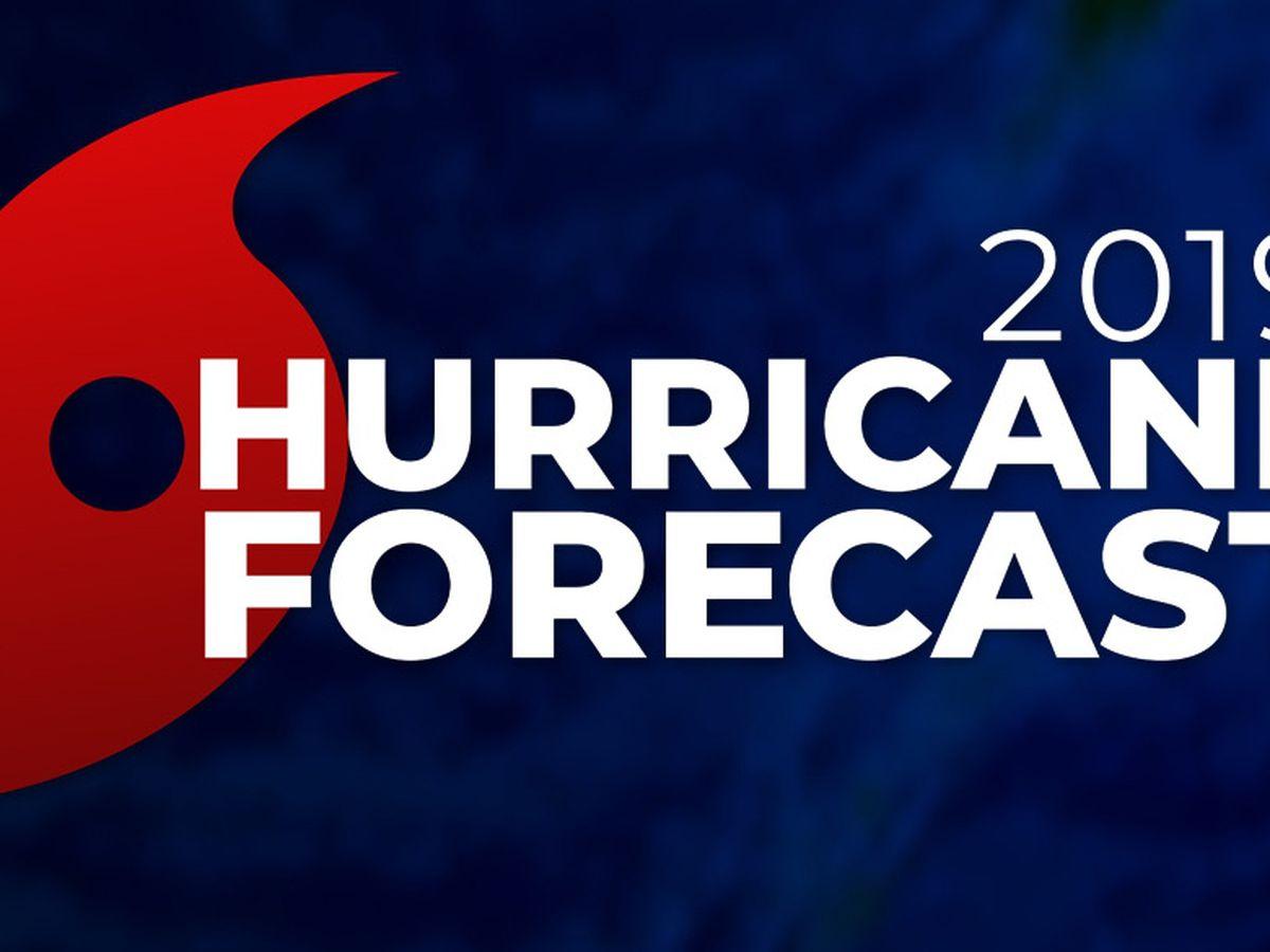 NOAA: 'near average' Atlantic Hurricane Season likely for 2019