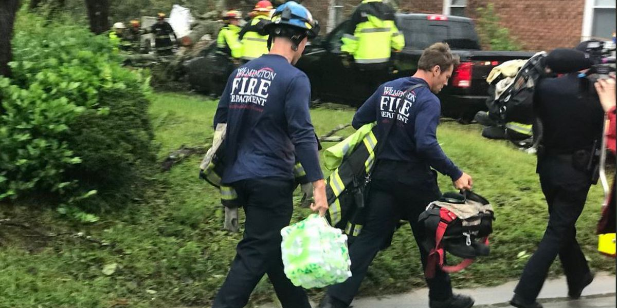 Wilmington firefighters recognized for heroic effort during Hurricane Florence