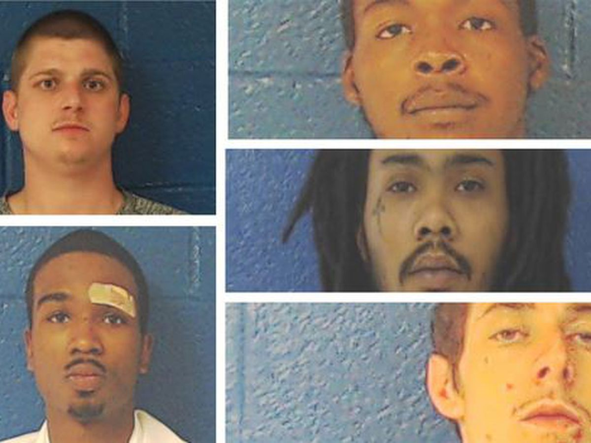 4 inmates caught, 1 still wanted after Nash County jailbreak