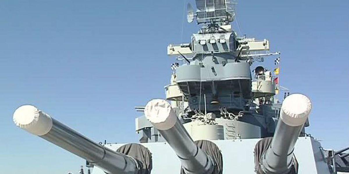 American hero honored aboard USS North Carolina