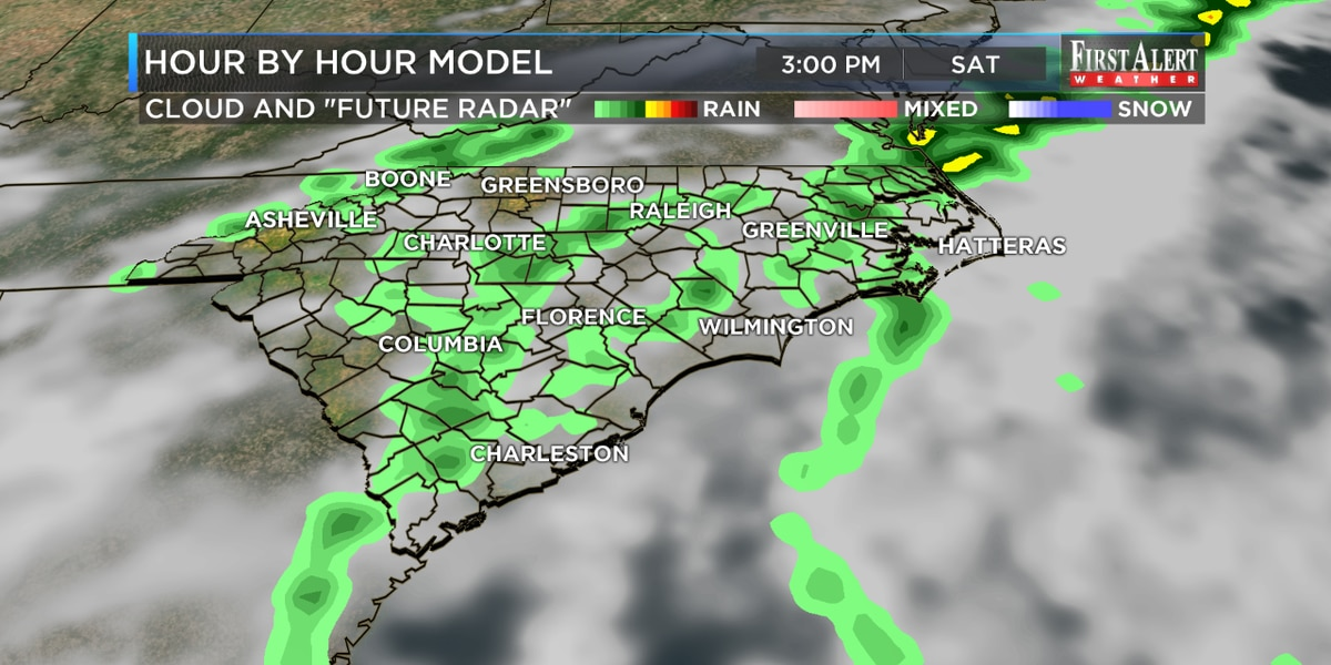 First Alert Forecast: mild and unsettled weekend with risk of storms possible