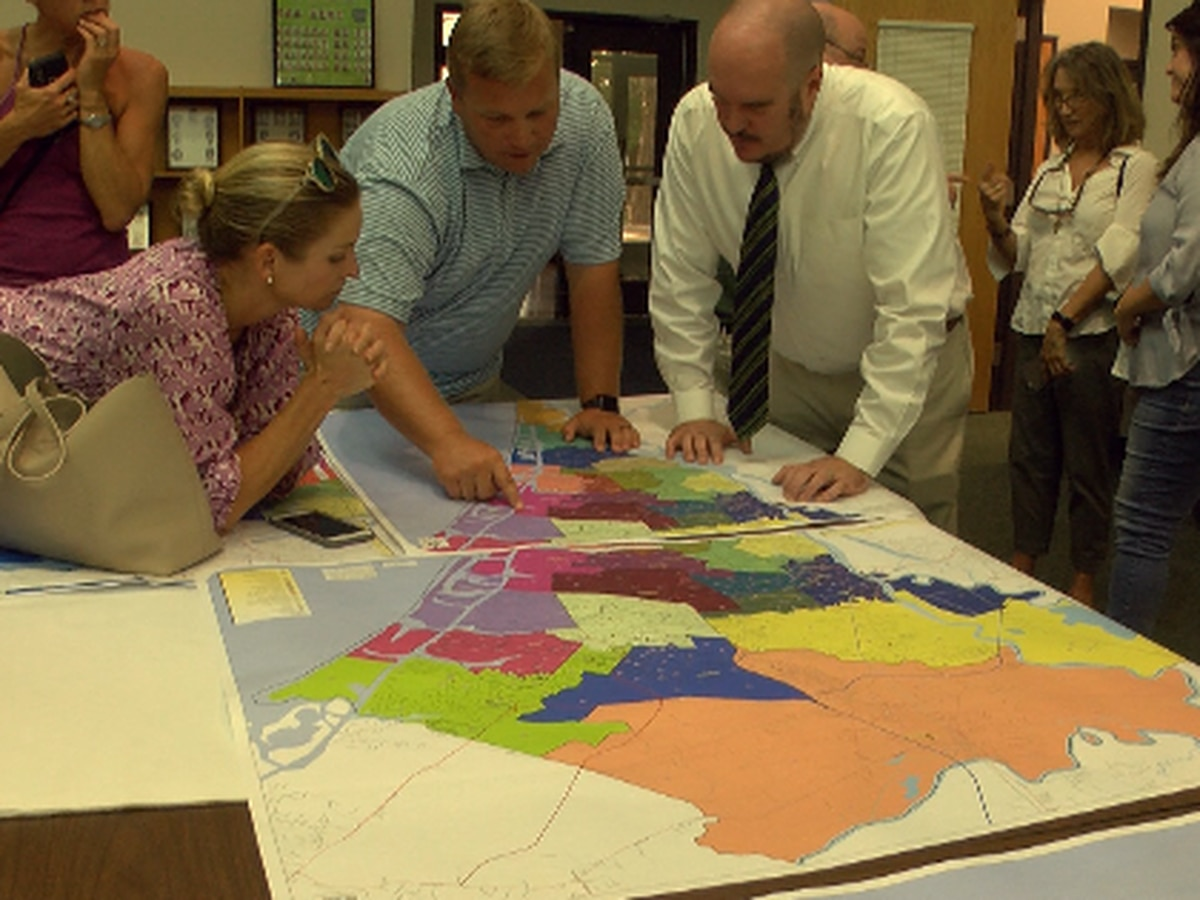 New Hanover County Schools Redistricting Committee looks at new proposals