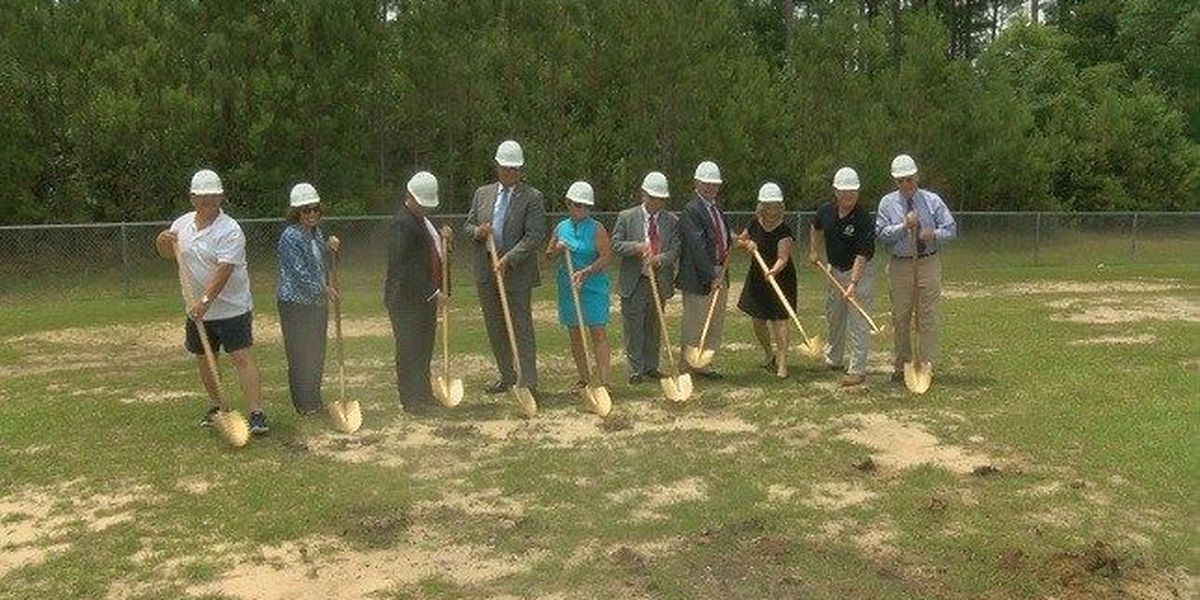 School district breaks ground on two new projects