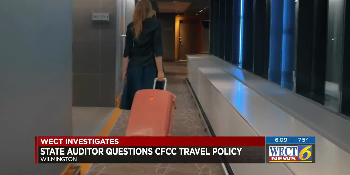 State auditor is questioning blanket approval for travel spending at CFCC