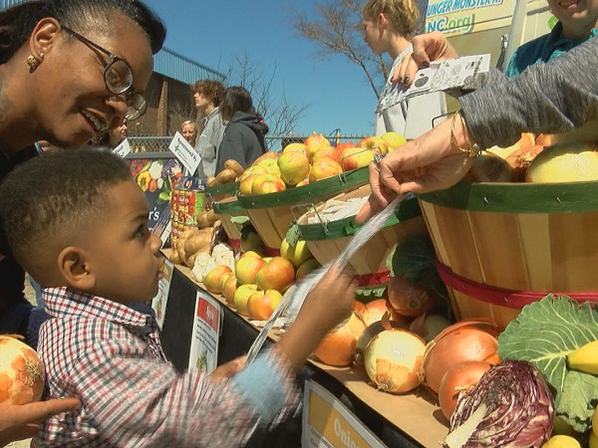 NourishNC helps food insecure families at Nourish the Northside event