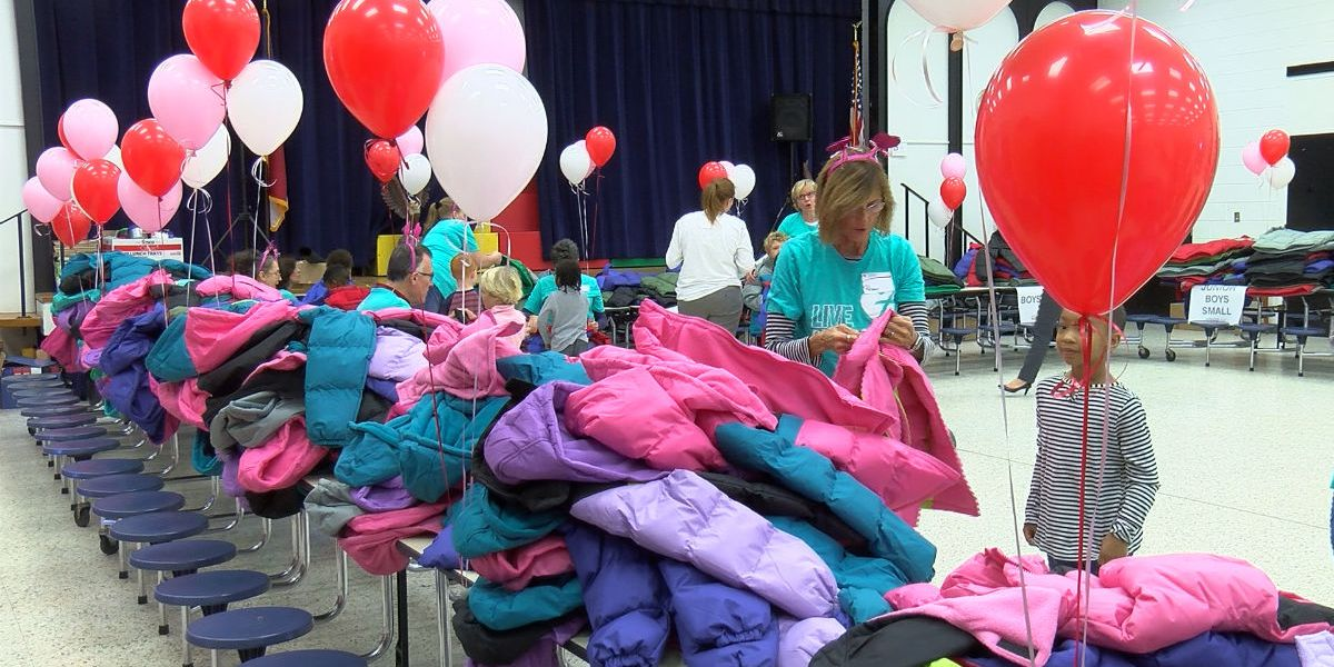 Wrapped in Love: Elementary students receive new coats