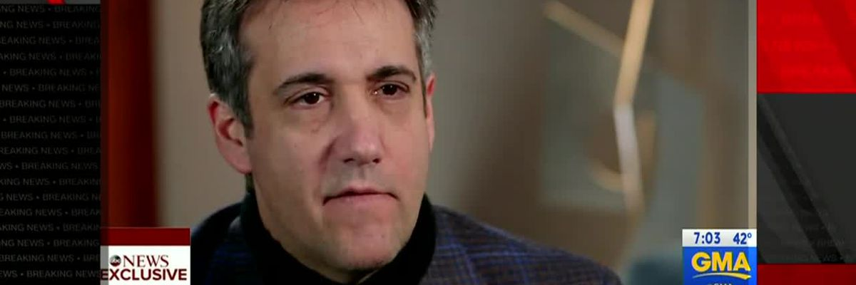 Cohen rips Trump: 'The man doesn't tell the truth'