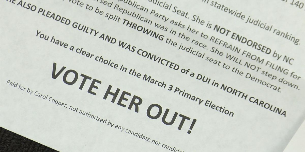 Judge Ray files counter complaint against people behind unflattering political flyer