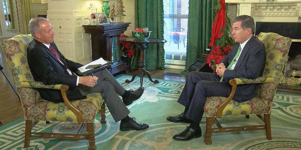 """Roy Cooper: Reflecting on his first two years as NC's governor (""""1on1 with Jon Evans"""" podcast)"""