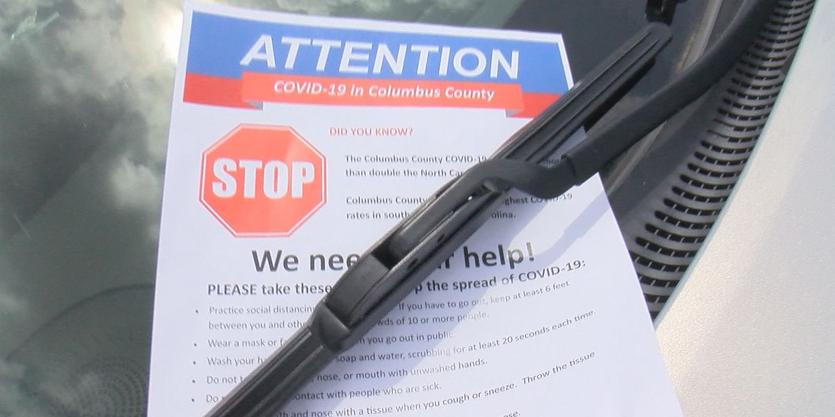 Health experts share message about COVID-19 in Columbus Co.