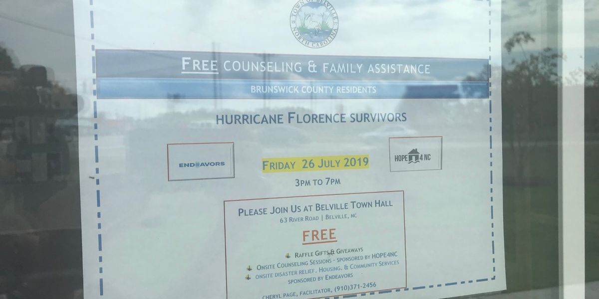 Crisis counselors work to fill unmet needs in hurricane recovery