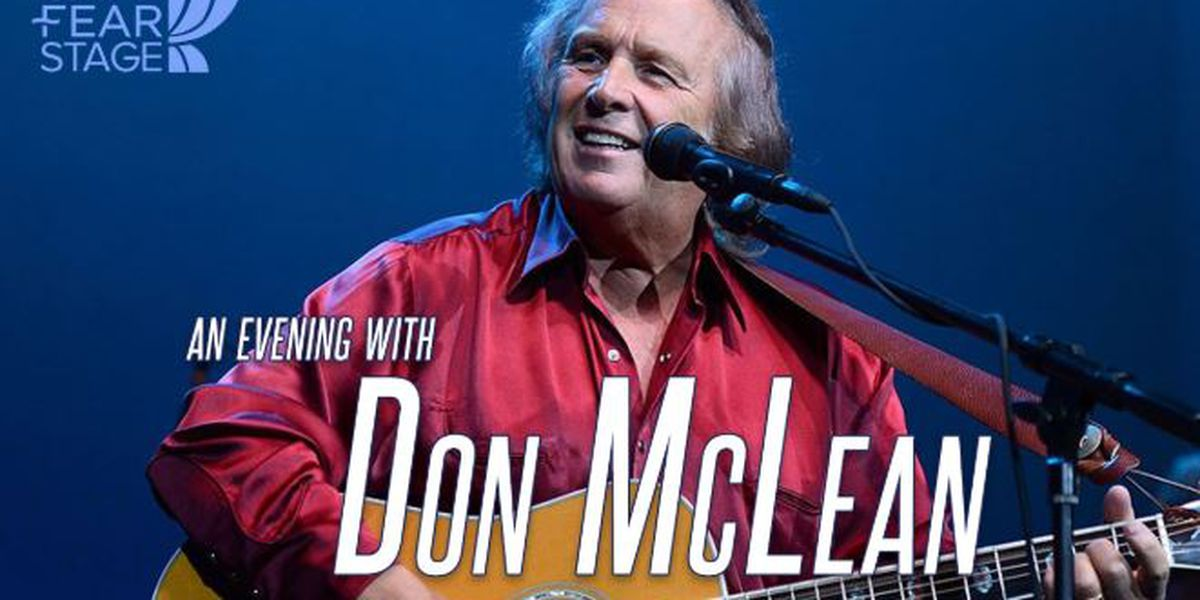 'American Pie' singer/songwriter Don McLean coming to Wilson Center