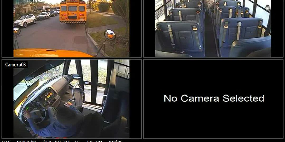 19-year-old charged in hit-and-run with parked school bus at New Hanover High