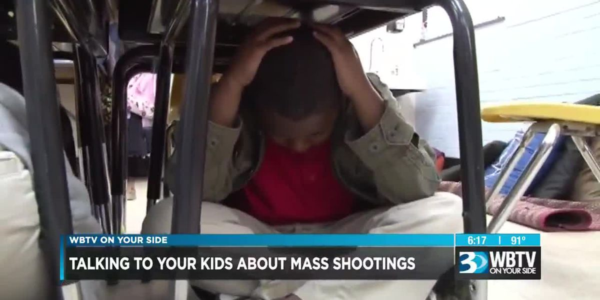Important conversation you should have with your kids about mass shootings