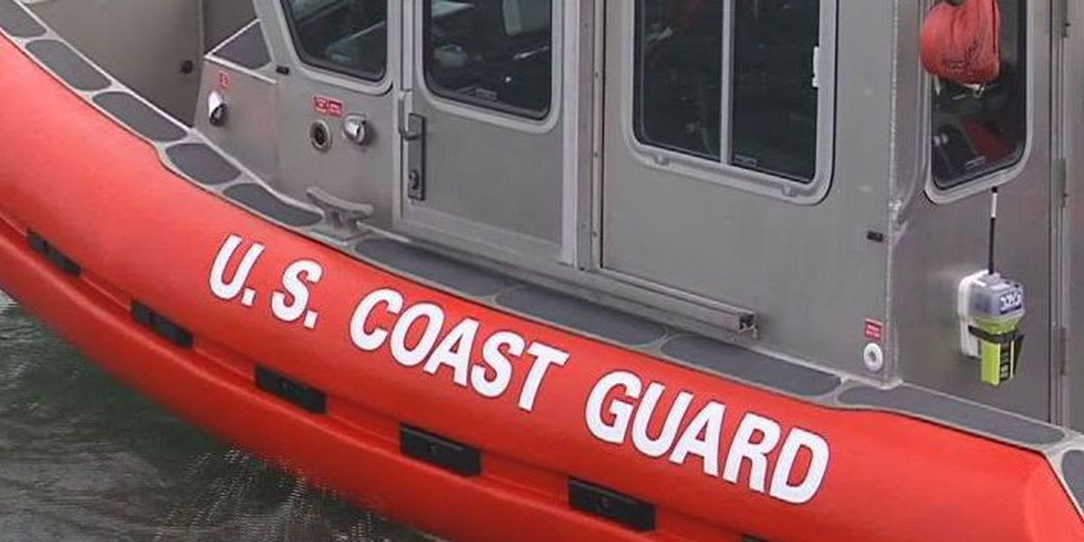 Coast Guard, good Samaritans help boaters, dog after fire