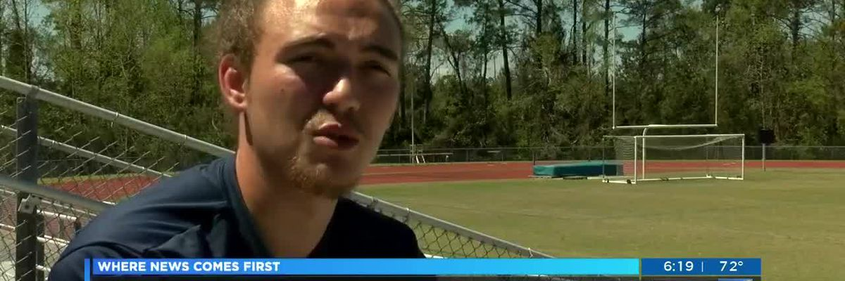Hoggard High School student-athlete beats deadly virus to make it back on the football field