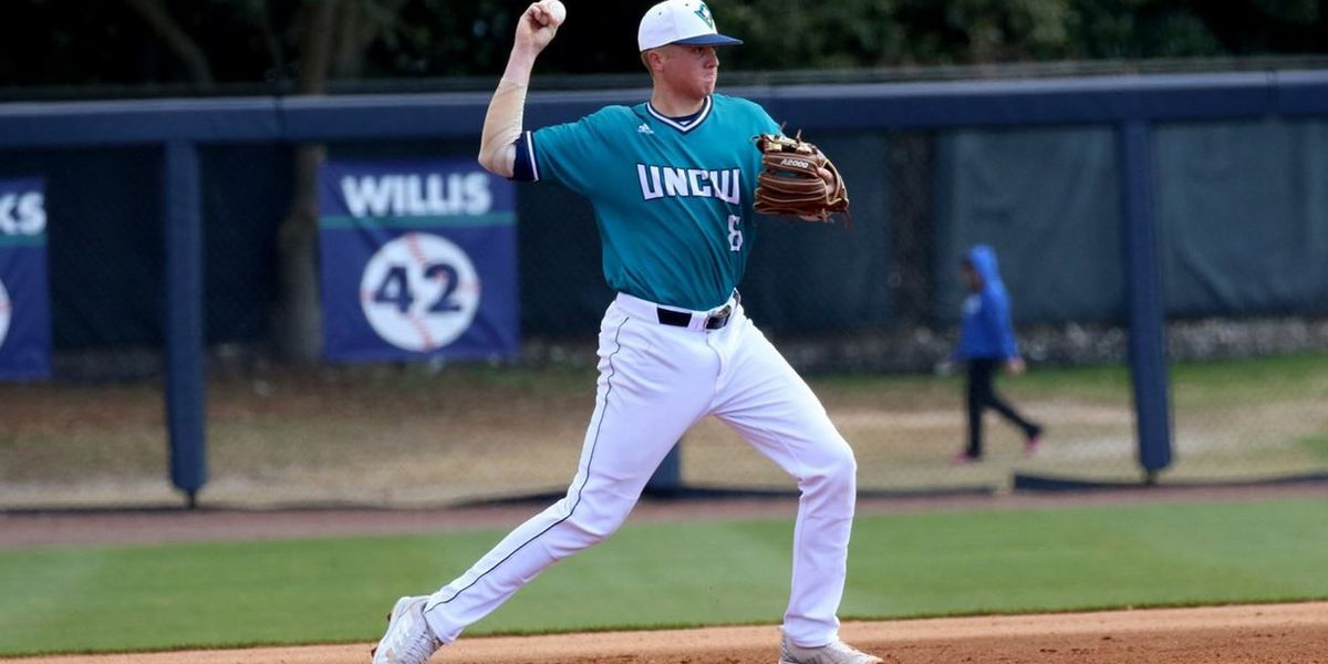 UNCW's Cole Weiss named CAA player of the week