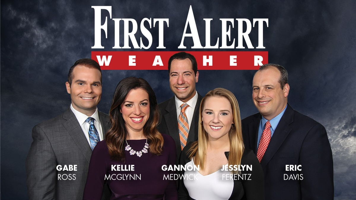 First Alert Forecast: welcomed sunshine and dry time to start the week