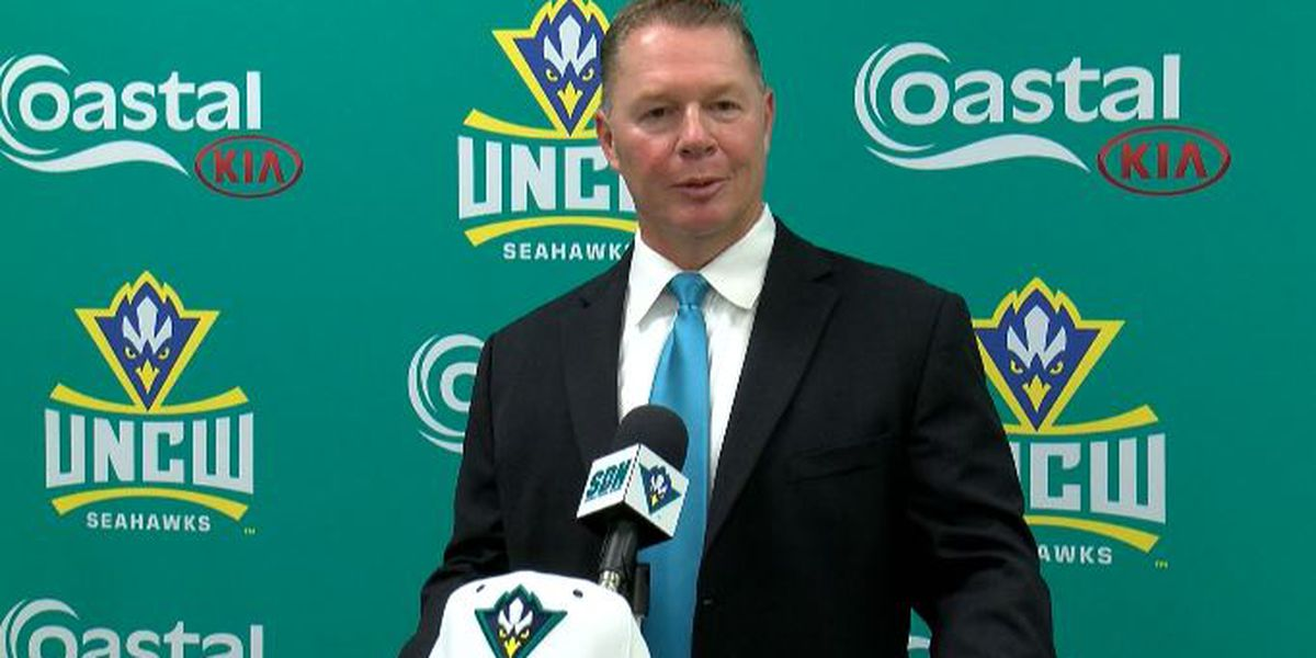 Randy Hood introduced as UNCW baseball coach