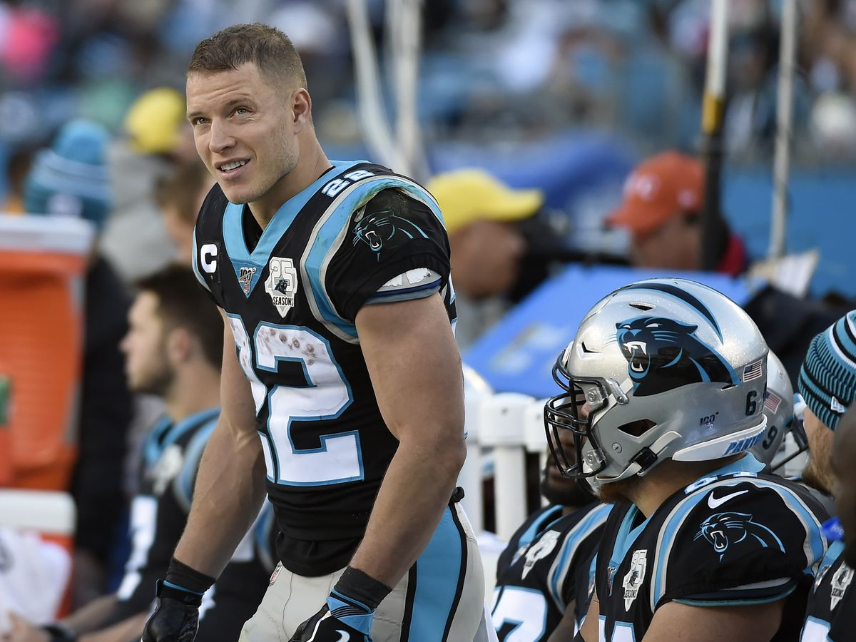 Panthers RB Christian McCaffrey gifts Super Bowl tickets to NC military couple
